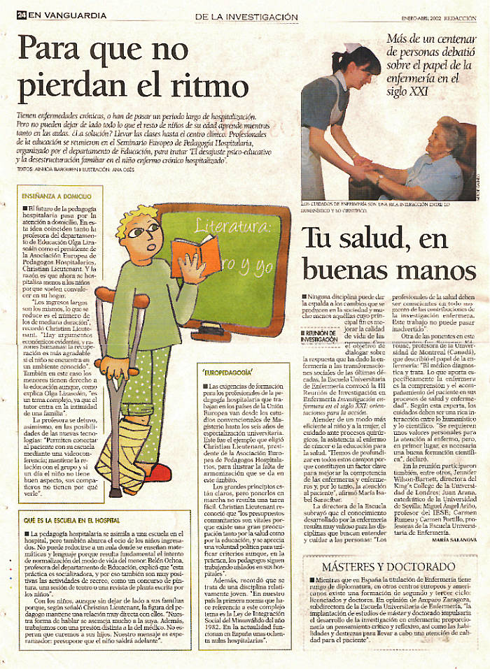Ilustración para revista universitaria Redaccion